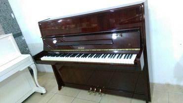Bakı şəhərində Çexiya istehsalı, ideal veziyyetde 3 pedallı piano. Çatdırılma,