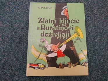 Pre - Srbija: Zlatni ključic ili buratinovi doživljaji -tolstoj dečje novine -gornji