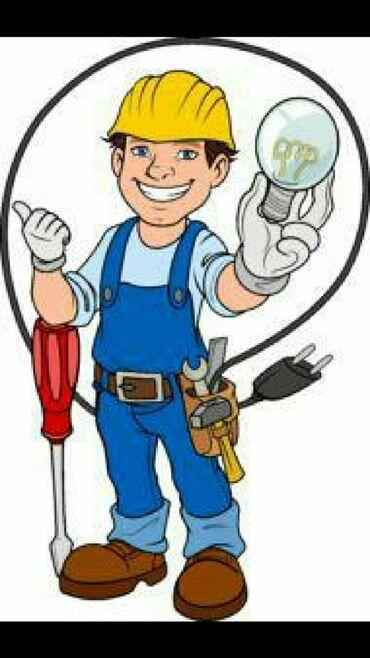 Электрик   Электромонтажные работы, Установка люстр, бра, светильников, Прокладка, замена кабеля   Стаж Больше 6 лет опыта
