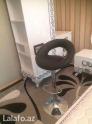 Xırdalan şəhərində Турецкий новый коженный барный стул черного цвета