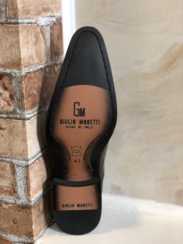Распродажа остатков Мужской обуви Giulio Moretti. Made in Italia! в Бишкек