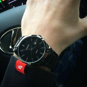 Кварцевые наручные часы  Бренд: CURREN ⠀ Модные и молодежные часы Мет