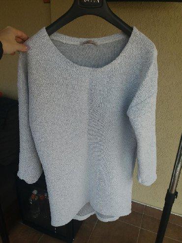 Pamucna nova bluzica, debljeg kvalitetnoh materijala sa 3/4 rukavima