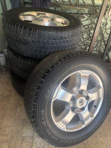 продам вагончик на колесах в Кыргызстан: Продам комплект зимних колёс 275/60R18