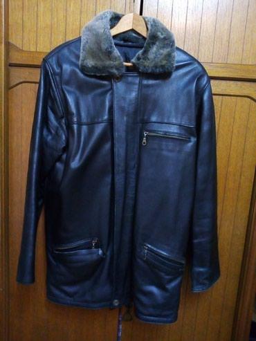 Jakna-indijskoj-radnji-east-pointmererame-rame-cm - Srbija: Muska kozna jakna koja ima ostecen tj. pocepan deo 2-3 cm sto se i vid