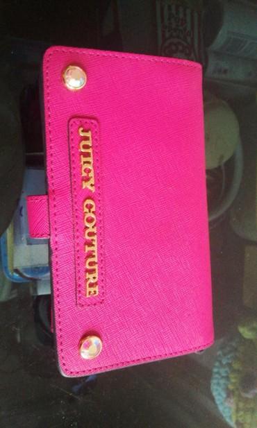juicy couture купальник в Кыргызстан: Клатч juicy culture, маленькая сумочка. НОВЫЙ!!! розовый