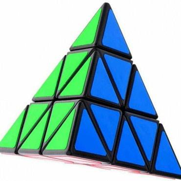 rubik - Azərbaycan: Pyraminx Kubik Rubik 11Azn Əladı Qutusuynan Birlikdə 11Azn