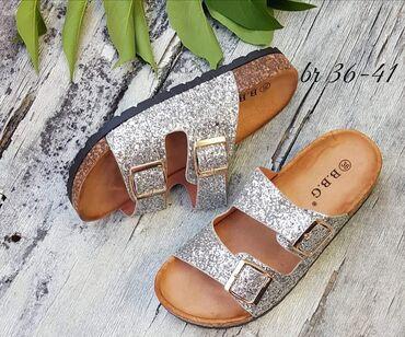 Extra nove papuče br 38 PRELAGANE preudobne premekane nove uvoz Turska