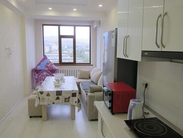 Продажа квартир - Бишкек: Элитка, 2 комнаты, 77 кв. м С мебелью, Евроремонт, Кондиционер