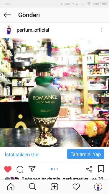 Xırdalan şəhərində Romance rasasi etir duxi parfum
