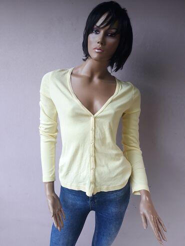 Personalni proizvodi | Prokuplje: H&M žuta bluzica nova ne nošena Velicina MVeliki izbor markirane