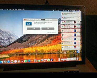 Apple - Кыргызстан: Macbook Pro 2011 15SSD 256HDD 1TCore i716g RAMВ очень хорошем