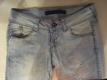 Светлые джинсы bershka. состояние отличное в Бишкек