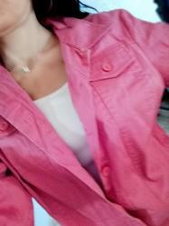Ženska odeća - Jagodina: Pink jakna Vel s. Saljem post expresom. Rasprodaja sa mog naloga
