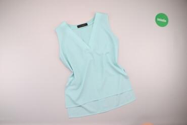 Рубашки и блузы - Цвет: Голубой - Киев: Жіноча блузка без рукавів by Vika Adamskaya, p. XS    Довжина: 69 см Ш