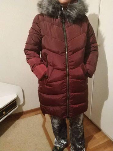 Продаю новую, очень тёплую, женскую длинную куртку - пальто зимнее, с