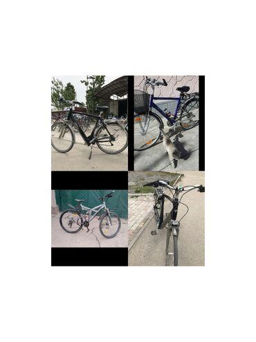 Немецкие велосипеды в Токмоке