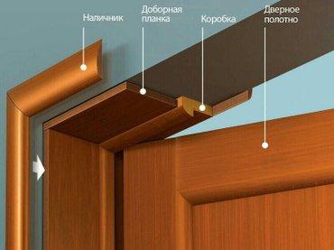 Установка дверей,откосы входных в Бишкек