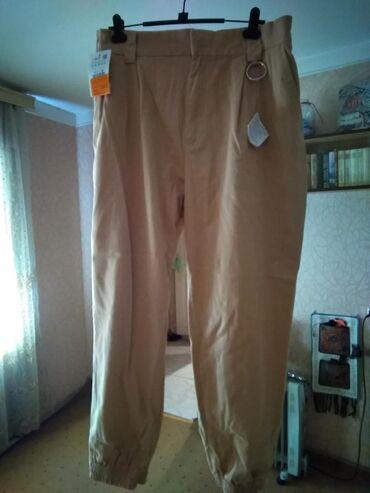 женские-брюки-новые в Азербайджан: Женские брюки Pull&Bear Турция ХХLНовые с биркой. Отдаю дёшево