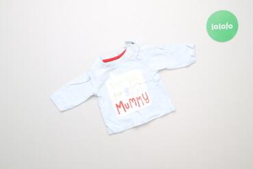 Топы и рубашки - Новый - Киев: Дитяча футболка для новонародженого Nutmeg, зріст 56 см    Довжина: 25