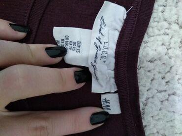 H&M potpuno nova bodi bluzica, vel S, uz telo