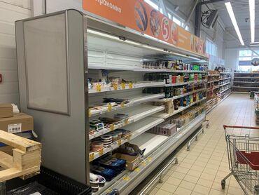 Оборудование для бизнеса в Бишкек: Холодильник. Холодильные горки с выносным агрегатом открытого