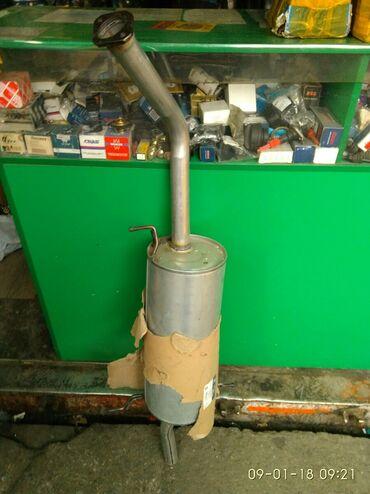Продаю задний глушитель на Мазду Кронос . Производство Китай