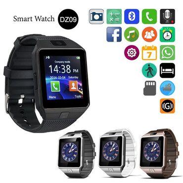 Mobilni telefoni i aksesoari | Arandjelovac: Pametni sat DZ09.Bluetooth Smart Watch sa slotom za SIM i mikro SD