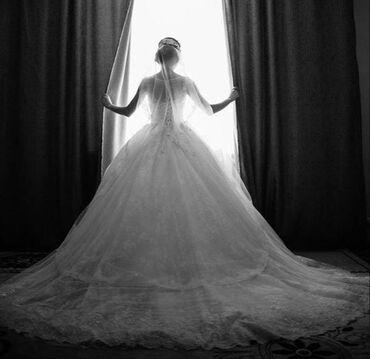 свадебные платья хиджаб в Кыргызстан: Свадебное платье продам