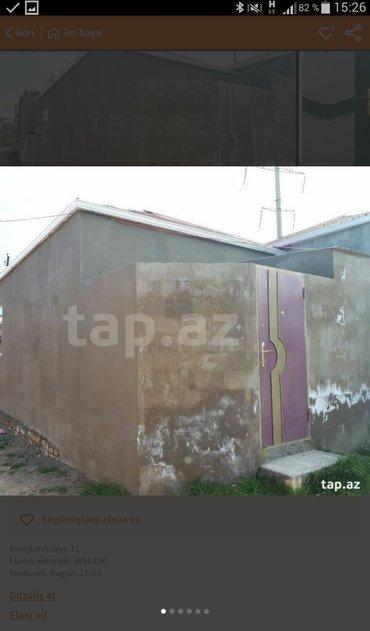 Xırdalan şəhərində Xirdalanda AAF parkin arxa tàràfindà 2 otaqli tàmirli hàyàt evi tàcili