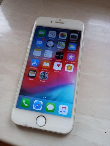 IPhone 6 | 16 GB | Boz (Space Gray) İşlənmiş | Barmaq izi
