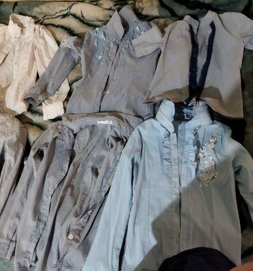 Продаю рубашкидо 10 лет некоторые до 8-9 продаю ещё юбкупятен нету