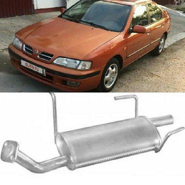 Глушитель. Nissan Primera P10 1.6 90-98.Производство Польша. Также