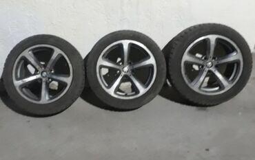 225 50 17 зимние шины в Кыргызстан: Продаю 3 диска 17 размера 249 стиль, с зимней резиной