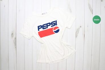 Жіноча футболка Pepsi, р. М   Довжина: 63 см Ширина плеча: 41 см Рукав