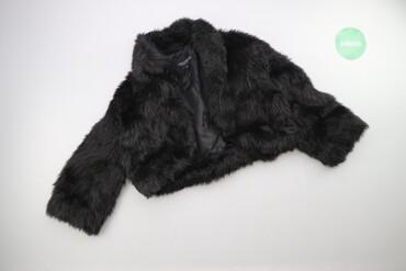 Личные вещи - Украина: Жіноча коротка шуба Terranova р. S    Довжина: 36 см Довжина рукава: 4