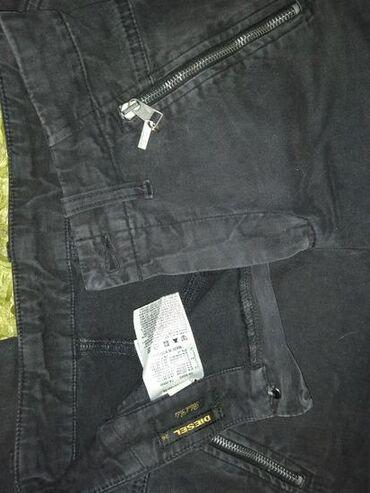 Original DIESEL pantalone, visokog struka. Jako prijatne i lake za