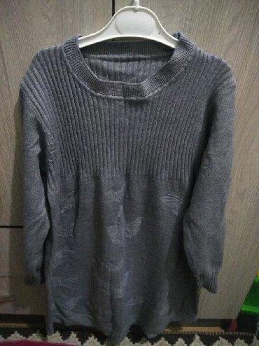 туника женская теплая в Кыргызстан: Трикотаж туника- платье тёплая / р 46-48