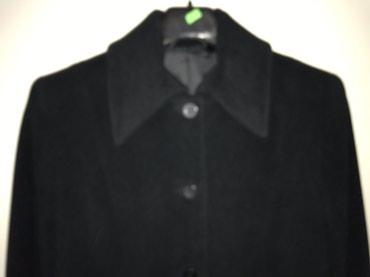 Crni dugacak kaput, nosen svega 4puta. - Pancevo