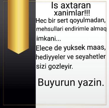 klyoş qadın ətəkləri - Azərbaycan: Şəbəkə marketinqi məsləhətçisi. İstənilən yaş. Natamam iş günü