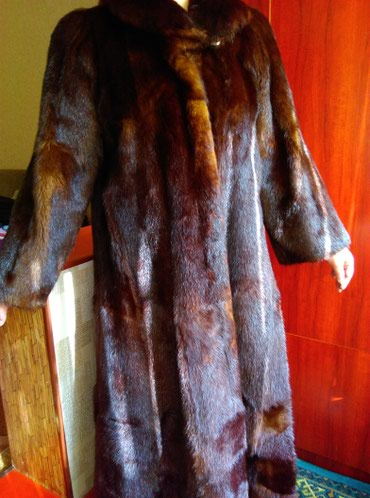 Продается норковая шуба цельная, в Бишкек