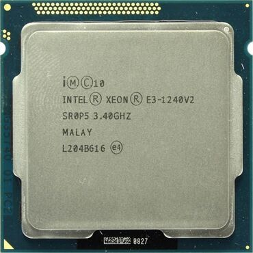 socket 1155 материнская плата в Кыргызстан: IntelXeonЕ3-1240 v2 3.4-3.8 Ghz/8Mb/5