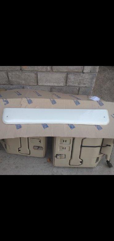 белая chery в Кыргызстан: Ветровик на LX470 оригинал цвет белый жемчуг