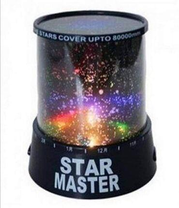 Sobna lampa sa sazvezdjima i preko 100000 zvezda! Lampa projektije