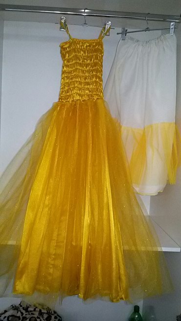 Бальное платье на девочку 7-10 лет. в Бишкек