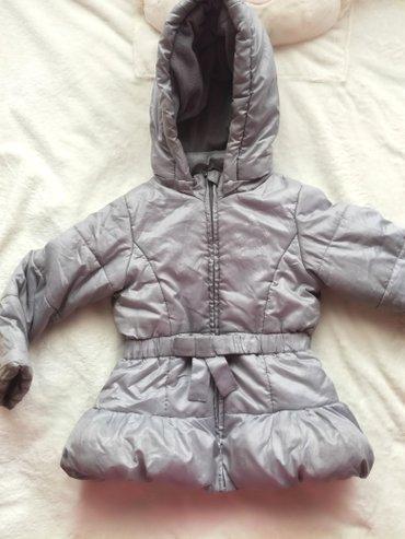 Suknjica jeans - Srbija: OVS jakna za devojčice.Veličina 98.Uzrast 3 godine .Boja metalik