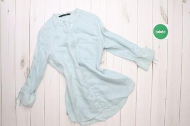 Рубашки и блузы - Цвет: Голубой - Киев: Жіноча сорочка Zara, р. M    Довжина: 75 см Ширина плечей: 39 см Рукав