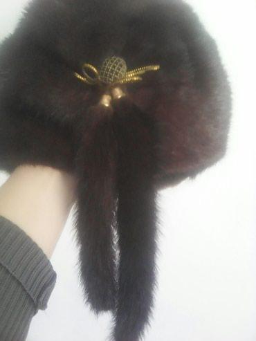 Новая женская норковая шапка. в Бишкек