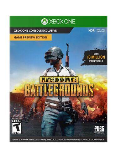 XBOX ONE üçün playerunkown's battlegrounds pubg oyunu. Sony