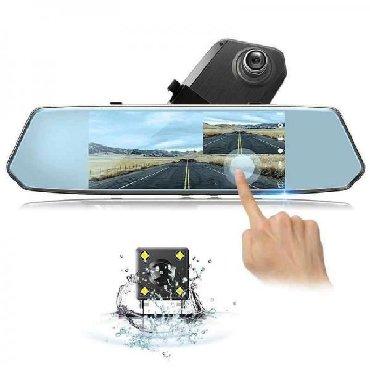 İkikameralı geniş ekran güzgü videoqeydiyyatçı, rəsmi zəmanətli tam в Bakı